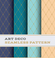 art deco seamless pattern 29 vector image