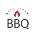bbq est 2018 image vector image
