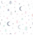 cute seamless pattern for kids lovely children vector image vector image