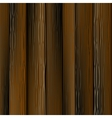 Dark Wood Planks vector image