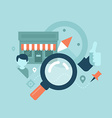 Local Business SEO Concept vector image