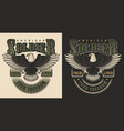 military t-shirt print concept vector image vector image