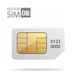 SimCard02 vector image vector image