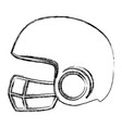 sport helmet isolated icon vector image