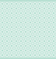 tile white and mint green pattern vector image