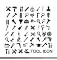 tool icon design vector image