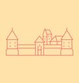 Vilnius vector image