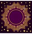 Royal Luxury Ornamental Golden Frame vector image
