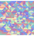 abstract gradient geometrical triangle background vector image vector image