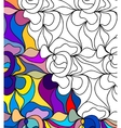 abstract seamless fantasy pattern hand drawn vector image vector image
