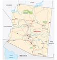 Arizona road map