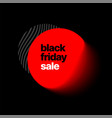 black friday sale and discount banner vector image vector image