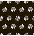 cocoa seamless pattern vector image vector image