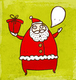 father christmas cartoon vector image vector image