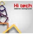 Hi tech abstract background vector image