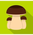 Mushroom icon flat style vector image