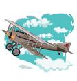 oldplane vector image