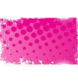 pink grunge background vector image vector image