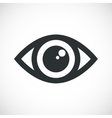 Simple Eye Icon with flare vector image