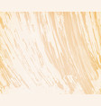 beige background with brushstrokes vector image vector image