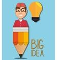 Big ideas graphic vector image vector image