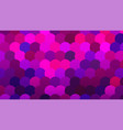 brightly colored pink and blue mosaic scale vector image