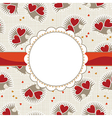 Cute valentine cards vector image vector image