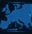 europe abstract map moldova vector image vector image