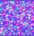gradient geometrical abstract polygonal triangle vector image vector image