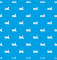 locomotive pattern seamless blue vector image