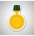 Military medal design vector image vector image