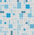 modern square tile wall vector image vector image