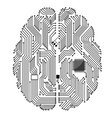 Motherboard brain vector | Price: 1 Credit (USD $1)