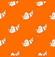 thanksgiving cornucopia pattern seamless vector image vector image