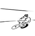 velodrome vector image vector image