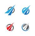 way icon design vector image vector image