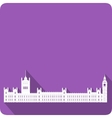 Westminster vector image