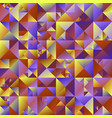 abstract polygonal geometrical triangle vector image vector image