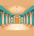 ballroom or royal palace hall
