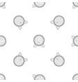 beer barrel pattern seamless vector image vector image