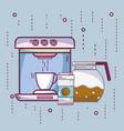 coffee and espresso vector image