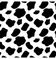 Cow Seamless Pattern Background vector image