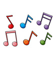 Face the music idiom vector image