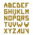 Gold construction alphabet