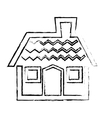 house property icon vector image vector image