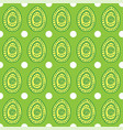 Seamless pattern with ornamental eggs