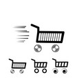 selection shopping cart vector image