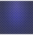 silver grille on blue background vector image vector image