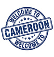 welcome to Cameroon vector image vector image