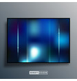 background template with blue gradient texture vector image vector image